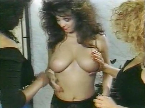 Barbara Alton, Christy Canyon, Carmel Nougat in vintage xxx scene