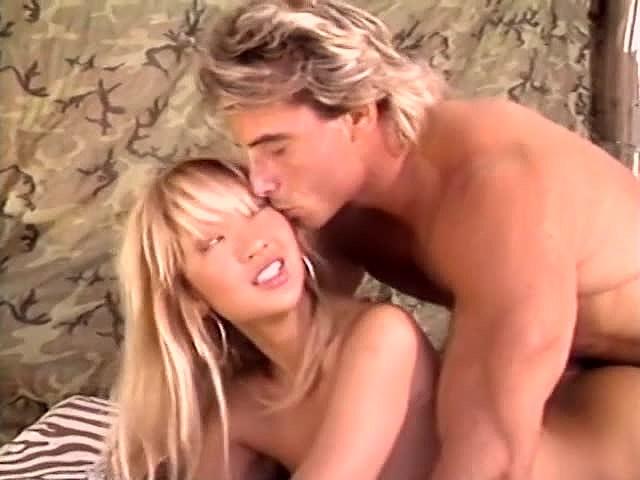 Aja, Jade East, Kascha in classic porn movie