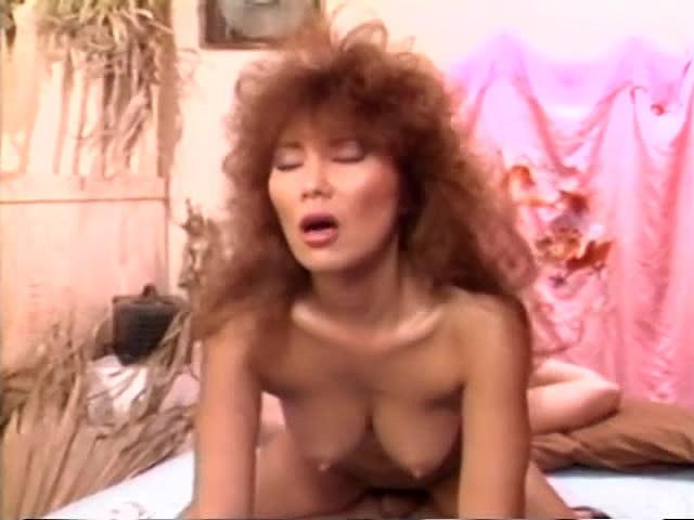 Aja, Jade East, Kascha in vintage porn video