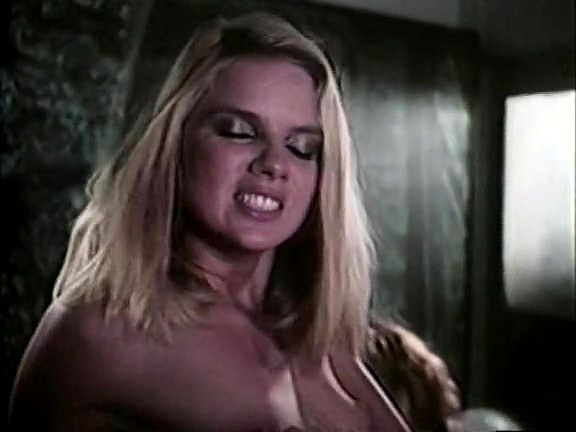 Amber Lynn, Tiffany Clark, Ashley Welles in vintage sex video
