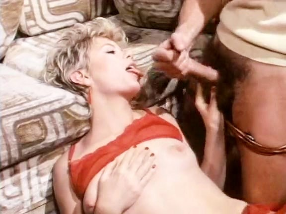 Carol Cross, Eric Edwards in 1980's sex scene with adorable blonde chick
