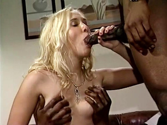 Charlie Waters, Ray Victory, Tony El-Ay in cute girl gets facial from black classic porn star