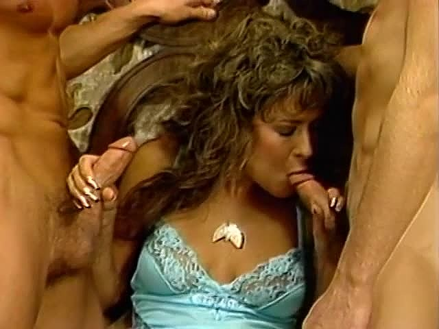 Al Brown, Sheri St. Clair, Billy Joe Fields in vintage sex clip