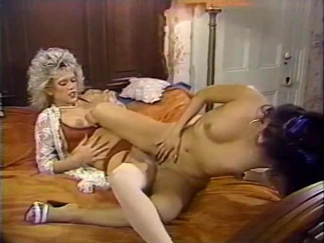 Amber Lynn, Debra Lynn, Erica Boyer in vintage xxx movie