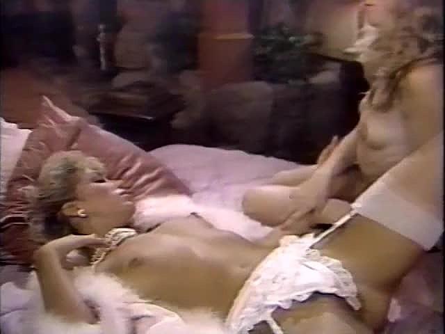 Amber Lynn, Debra Lynn, Erica Boyer in vintage xxx scene