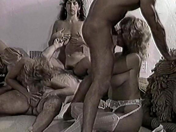 Gina Carrera, Stacey Wells, Gary West in classic xxx scene