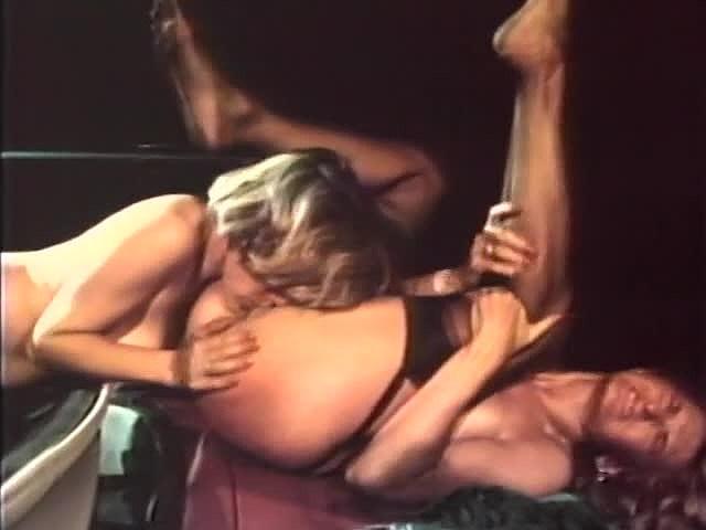 Alicia Monet, Amber Lynn, Brandy Alexandre in classic xxx movie