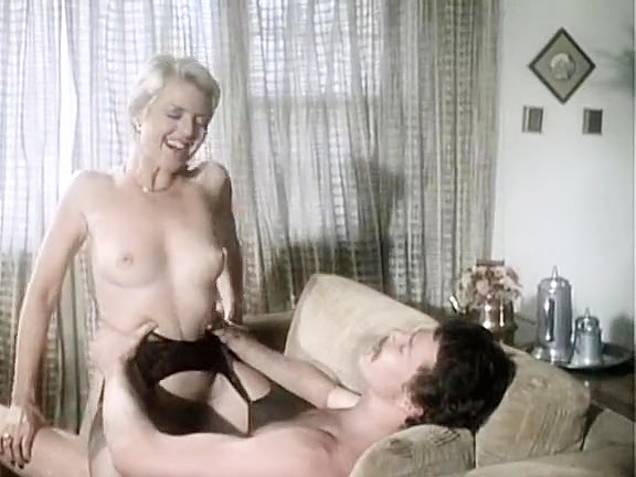 Juliet Anderson, Ron Hudd in hot 80's porn video with double penetration