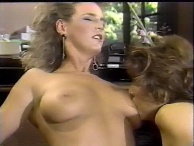 Amber Lynn, Debra Lynn, Erica Boyer in vintage sex movie