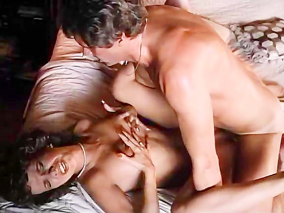 Kimberly Carson, Eric Edwards in gorgeous classic pornstar enjoys passionate sex