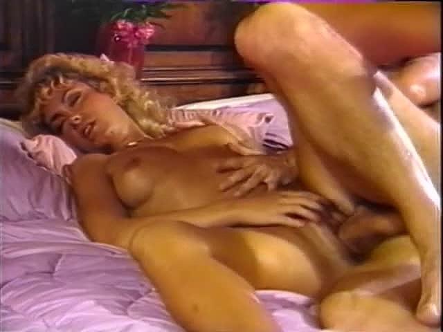 Amber Lynn, Tracey Adams, Herschel Savage in vintage sex scene