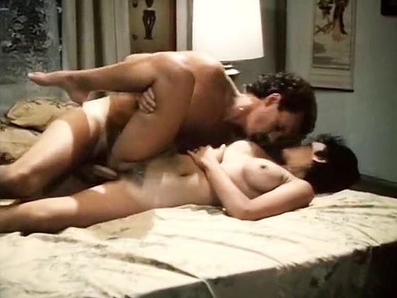 Melissa Melendez, Joey Silvera in love birds fuck madly in classic erotica video