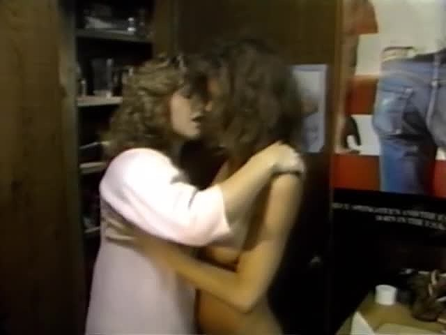 Aurora, Candy Samples, Christy Canyon in vintage porn video