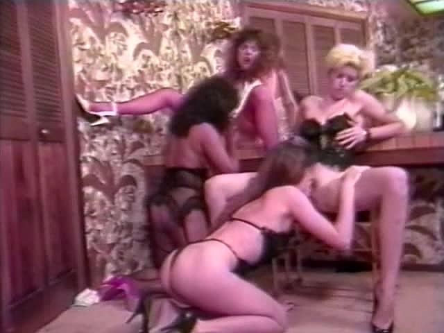 Aurora, Randy Spears, Amber Lynn in vintage xxx clip