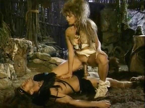 Sabrina Dawn, Randy Spears in 1980's porn video of savage barbarian sex