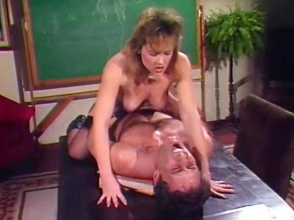 Taija Rae, John Leslie in classic 80's porn video with John Leslie