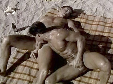 Beach Blanket Boner – Old Classic Sex, Retro Interracial
